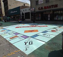 Street Mural, Jersey City, New Jersey by lenspiro