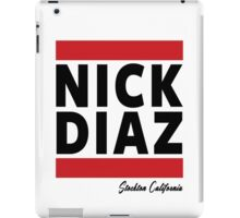 Nick Diaz iPad Case/Skin
