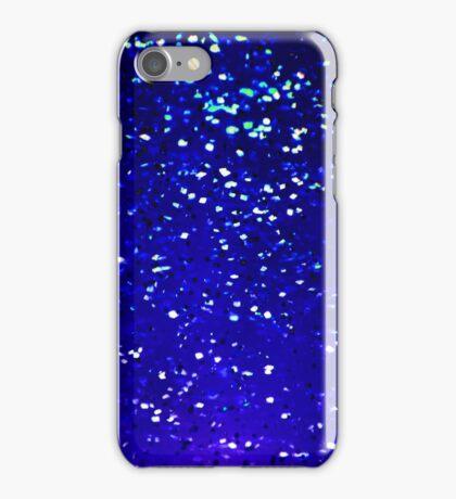 Deep Blue Sparkles iPhone Case/Skin