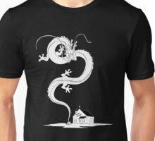 Shenlong rising from Kame House (night) Unisex T-Shirt