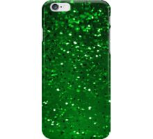 Green Sparkles iPhone Case/Skin