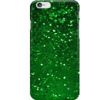 Green Sparkles iPhone Case/Skin