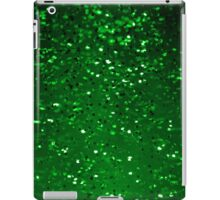 Green Sparkles iPad Case/Skin