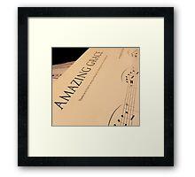 Amazing Grace Framed Print