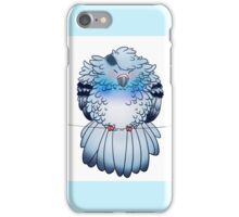 Fluff bird iPhone Case/Skin