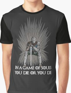 A Game of Souls Graphic T-Shirt