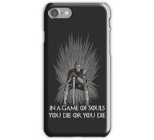 A Game of Souls iPhone Case/Skin