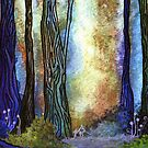 Watercolor Forest by Rootedbeauty