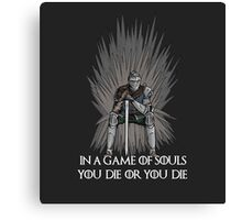 A Game of Souls Canvas Print