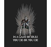 A Game of Souls Photographic Print
