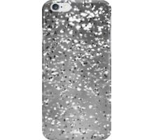 Silver Sparkles iPhone Case/Skin