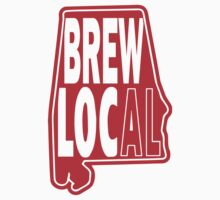 Brew Local Red T-Shirt