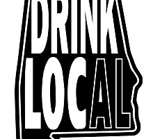Drink Local Black by BuyLocal