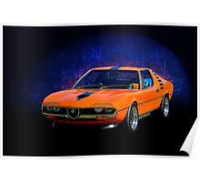 Alfa Romeo Montreal Poster