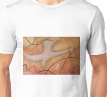 The Dove Religious Abstract Art By Saribelle  Unisex T-Shirt