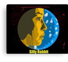 Silly Rabbit Canvas Print