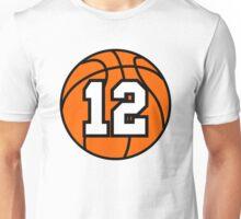 Basketball 12 Unisex T-Shirt