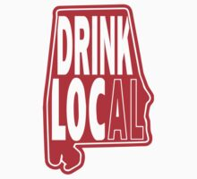 Drink Local Red T-Shirt