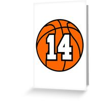 Basketball 14 Greeting Card