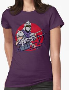 Shredder Womens Fitted T-Shirt
