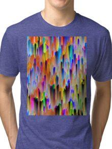 Colorful digital art splashing Tri-blend T-Shirt