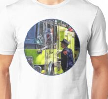 Firemen Talking Unisex T-Shirt