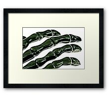 Chilling Touch Framed Print