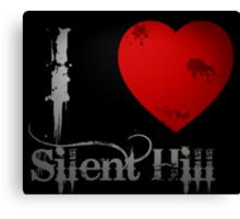 I Heart Silent Hill Canvas Print