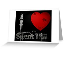 I Heart Silent Hill Greeting Card