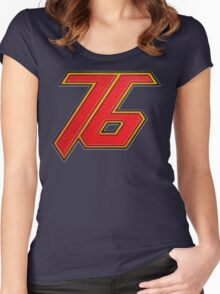 76 Women's Fitted Scoop T-Shirt