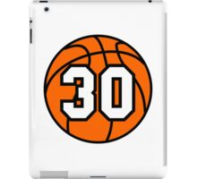 Basketball 30 iPad Case/Skin