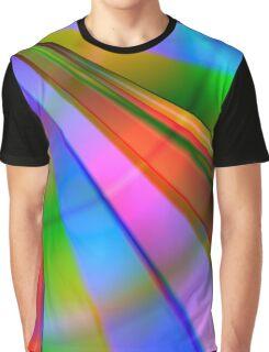 Rainbow Point Graphic T-Shirt