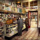 Drugstore - Exact change please 1920 by Mike  Savad