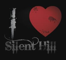 I Heart Silent Hill by Sarah Ball (TheMaggotPie)