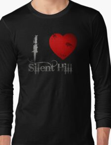 I Heart Silent Hill Long Sleeve T-Shirt