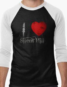 I Heart Silent Hill Men's Baseball ¾ T-Shirt