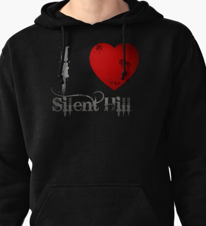 I Heart Silent Hill Pullover Hoodie