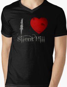 I Heart Silent Hill Mens V-Neck T-Shirt