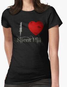 I Heart Silent Hill Womens Fitted T-Shirt