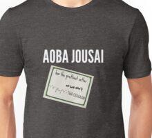 aoba jousai has the prettiest setter (shut up oikawa) Unisex T-Shirt