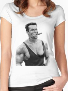 Arnold Women's Fitted Scoop T-Shirt