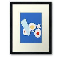 Ice Man Framed Print