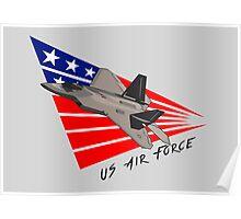 US Air Force - F-22 Raptor Poster
