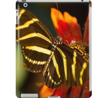 Zebra on the Flower iPad Case/Skin