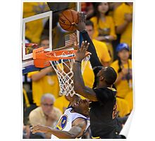 LeBron's block Poster