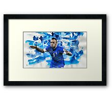 Brazil - World Cup 2014 (Greece) Framed Print