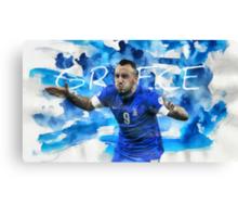 Brazil - World Cup 2014 (Greece) Canvas Print