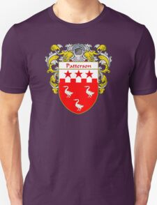 Patterson Coat of Arms / Patterson Family Crest Unisex T-Shirt