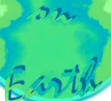 Paradise on Earth Sticker