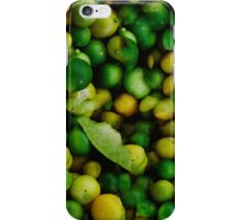 Lemon and Lime iPhone Case/Skin